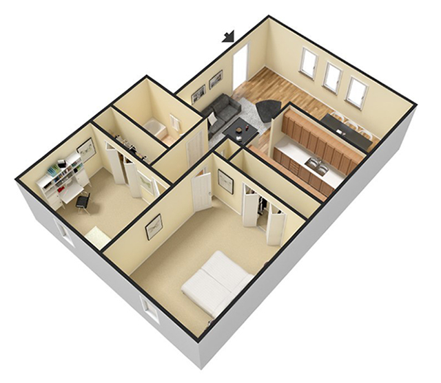 3 Bedroom Apartments Nj: Treetop Apartments For Rent In Bloomingdale, NJ